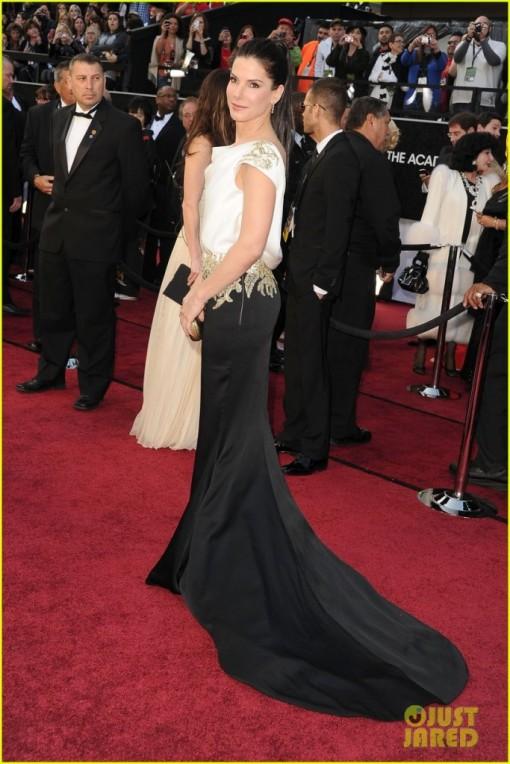 Sandra Bullock - Vestido Marchesa